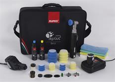 RUPES iBrid BigFoot nano, Short Neck Deluxe Kit - nano leštička s krátkým krkem, kompletní sada s taškou a příslušenstvím