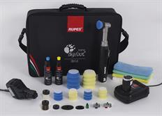 RUPES iBrid BigFoot nano, Long Neck Deluxe Kit - nano leštička s dlouhým krkem, kompletní sada s taškou a příslušenstvím