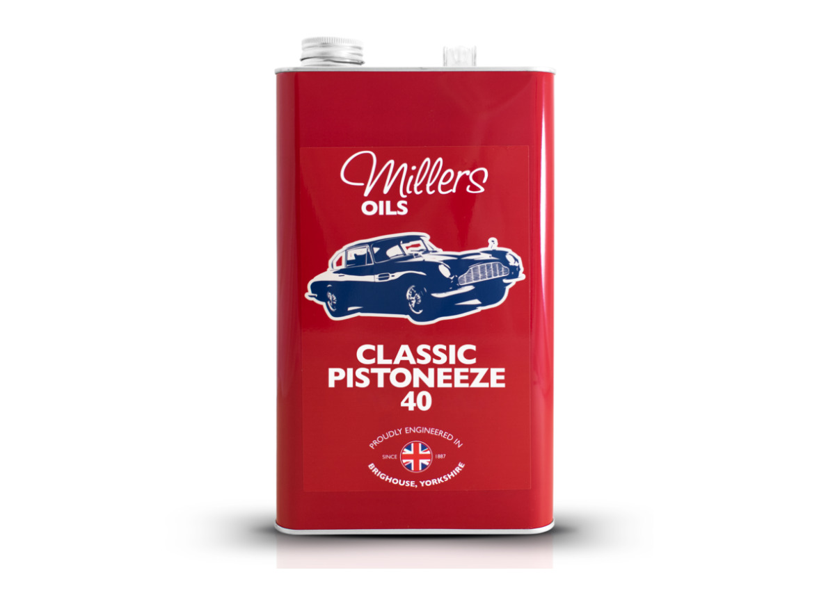 Jednorozsahový motorový olej Millers Oils - Classic Pistoneeze 40 5l