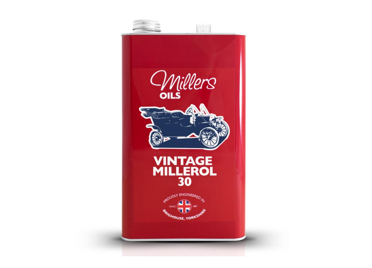 Jednorozsahový olej Millers Oils - Vintage Millerol 30 5l - pro motory a převodovky