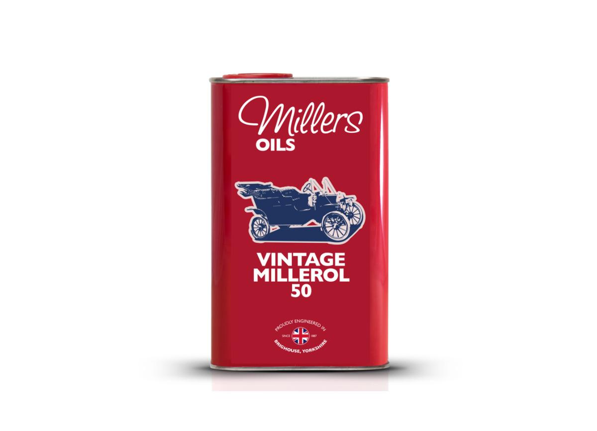 Jednorozsahový olej Millers Oils - Vintage Millerol 50 1l - pro motory a převodovky