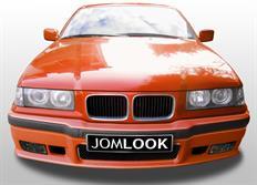 JOM Kompletní přední nárazník pro BMW E36 v designu M3 s integrovaným lízátkem