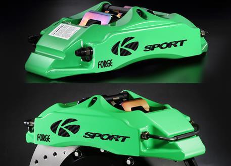 Přední brzdový kit K-Sport pro Smart For Four, r.v. od 2014, 4pístkové brzdiče, velikost kotoučů: 286X26 mm