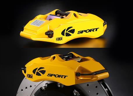 Zadní brzdový kit K-Sport pro Lexus IS300h, r.v. od 2013, 4pístkové brzdiče, velikost kotoučů: 356X32mm