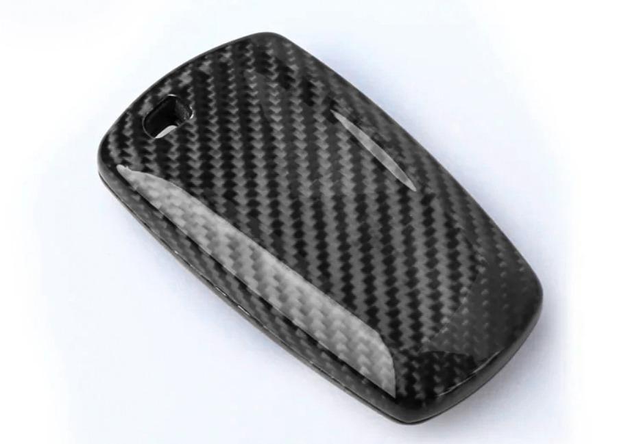 Karbonové pouzdro na klíč pro BMW 1-6 SERIES, barva černá