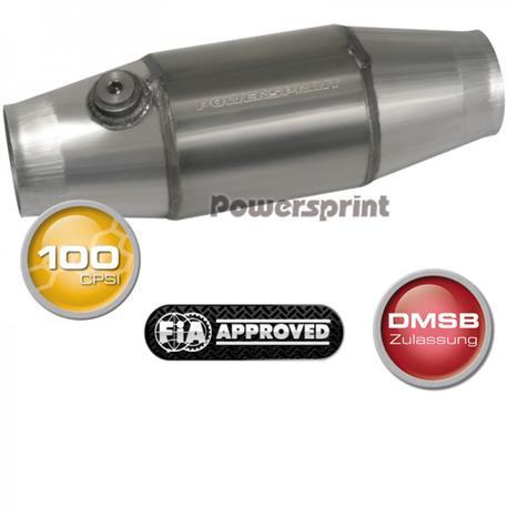 Powersprint závodní katalyzátor 100 CPSI (homologace FIA), vnitřní průměr příruby 76 mm