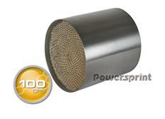 Powersprint sportovní katalyzátor 100 CPSI bez přípojného kužele, vnitřní průměr 127 mm, délka 130 mm