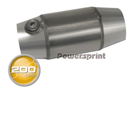 Powersprint závodní katalyzátor 200 CPSI, vnitřní průměr příruby 76 mm