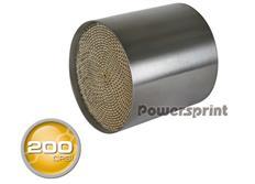 Powersprint sportovní katalyzátor 200 CPSI bez přípojného kužele, vnitřní průměr 127 mm, délka 115 mm