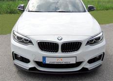 Kerscher lipa pod originální přední nárazník pro BMW řady 2 (F22/F23) s aerodynamickým exteriérovým paketem M