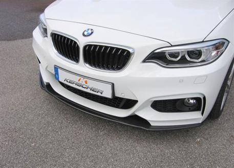 Kerscher přední carbonový spoiler pro BMW řady 2 F22 pod originální nárazník M-Paket