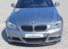 Kerscher přední carbonový spoiler pro BMW řady 3 E91, E91 pod originální nárazník M-Paket
