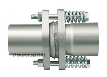 Powersprint kompenzátor rovný, vnější průměr 70 mm, délka 170 mm.