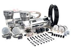 Dual Pack balení vzduchových kompresorů VIAIR 480C, Chrom