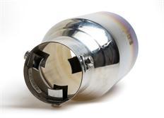 Koncovka výfuku 102 mm opálená rovná bez pertlu
