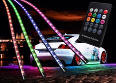 Flexibilní LED neony Multicolor - sada s inovovaným dálkovým ovládáním