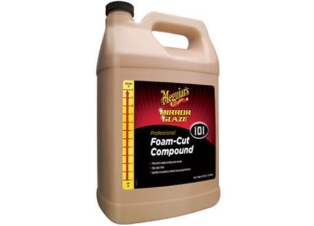 Meguiar's Foam-Cut Compound, 3,78 l - extrémně účinná profesionální korekční a lešticí pasta s technologií super-mikroabraziv