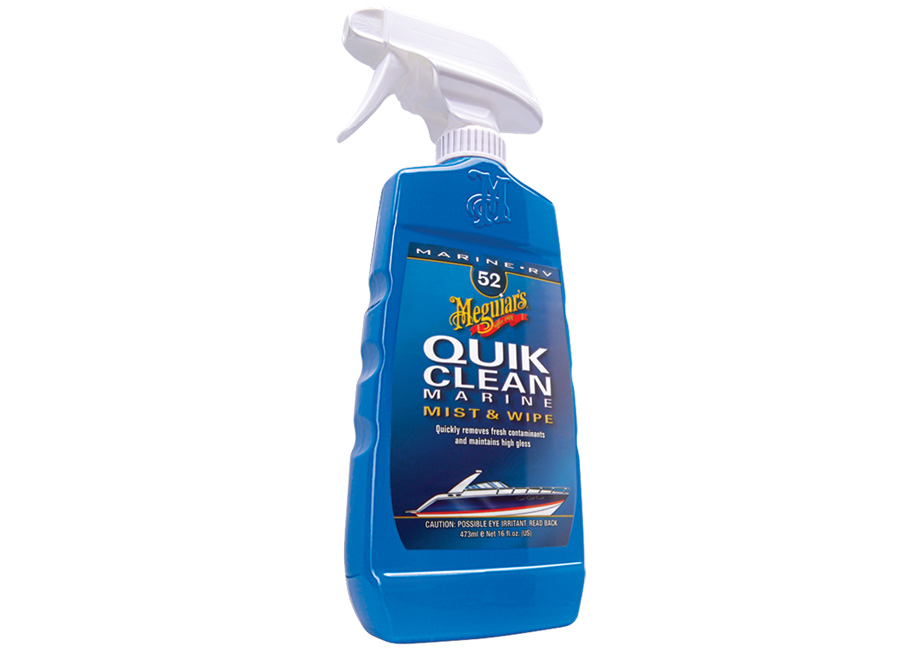Meguiar's Quik Clean Marine - přípravek pro rychlou a snadnou údržbu, 473 ml