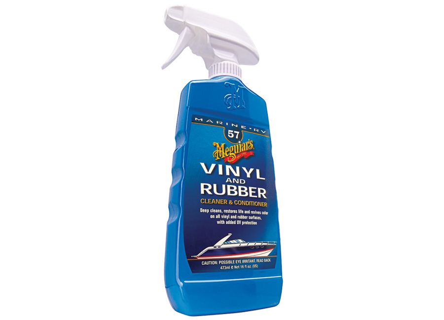Meguiar's Boat Vinyl & Rubber Cleaner/Conditioner - čistič a kondicionér na plasty a gumy, 473 ml
