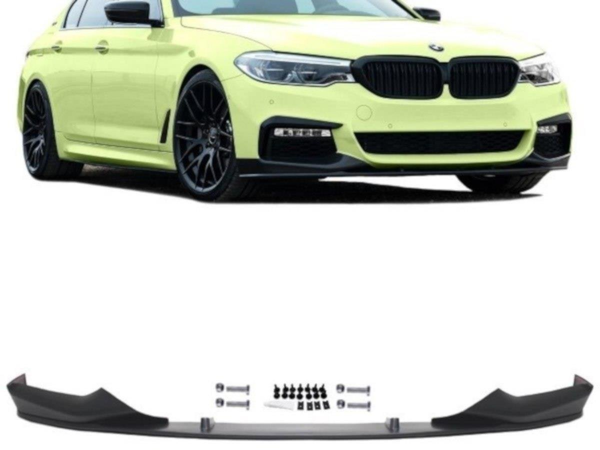 Maxton Design spoiler pod přední nárazník Sport Performance pro BMW Řada 5 G30-G31, plast ABS bez povrchové úpravy