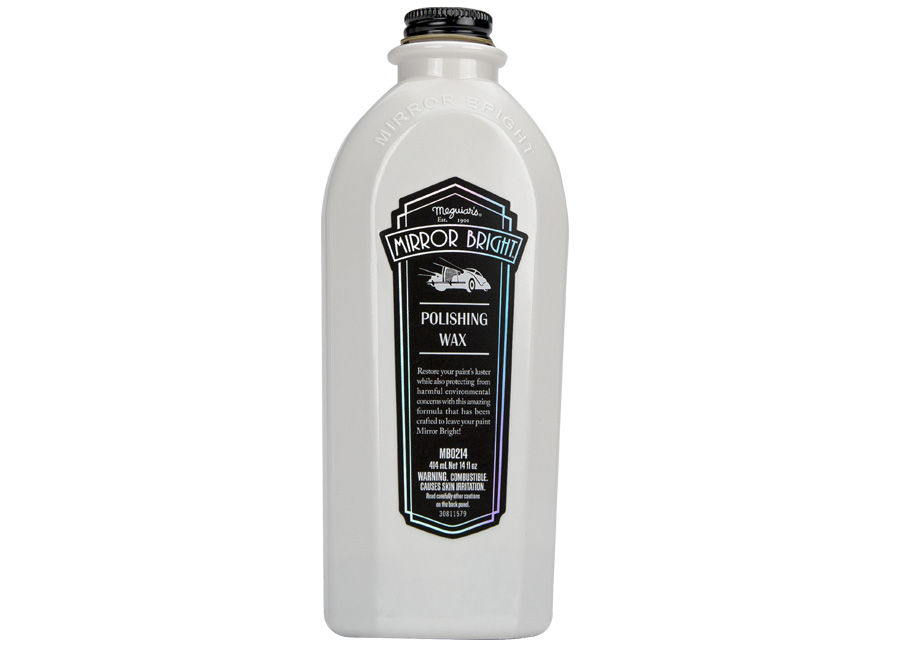 Meguiar's Mirror Bright Polishing Wax - leštěnka s voskem, 414 ml