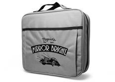 Meguiar's Mirror Bright Bag - taška na autokosmetiku s motivem řady Mirror Bright, 31 cm x 29 cm x 9 cm