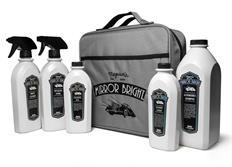 Meguiar's Mirror Bright Kit - výhodná sada autokosmetiky s taškou v designu Mirror Bright