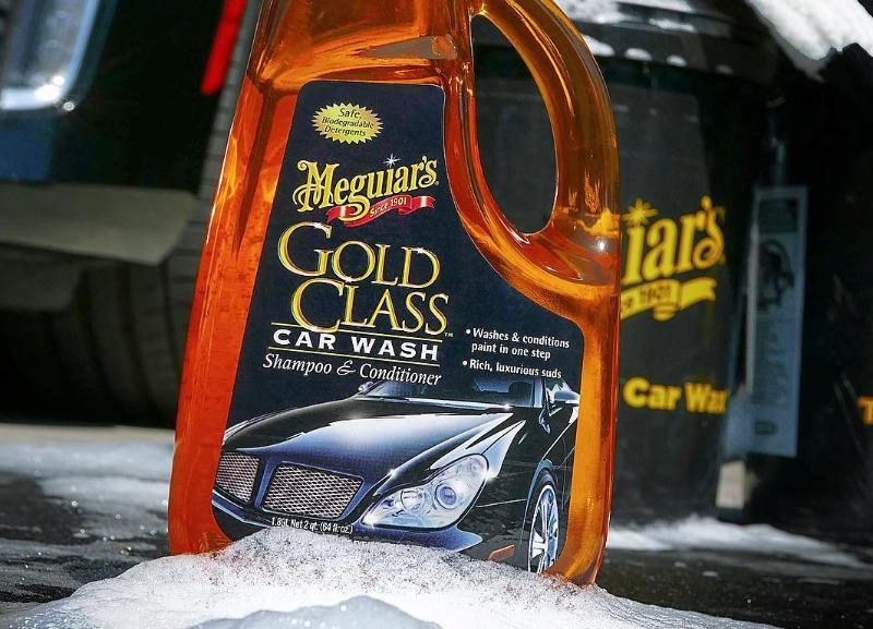 Meguiar's Gold Class Car Wash Shampoo & Conditioner - extra hustý autošampon s kondicionéry, 473 ml