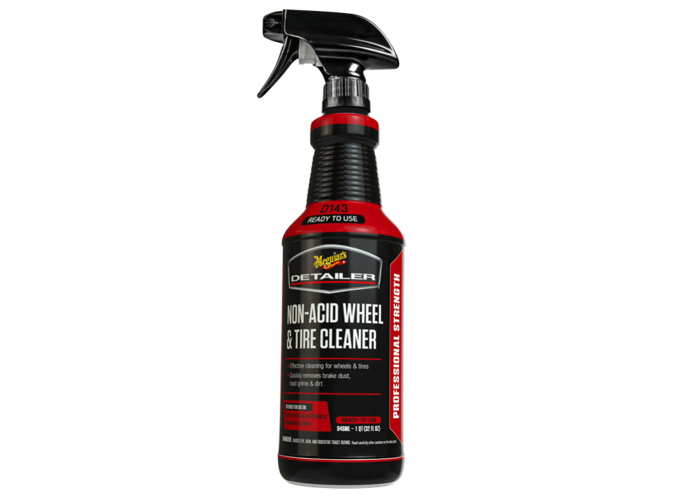 Meguiar's Non-Acid Wheel & Tire Cleaner - čistič na kola a pneumatiky, 946 ml