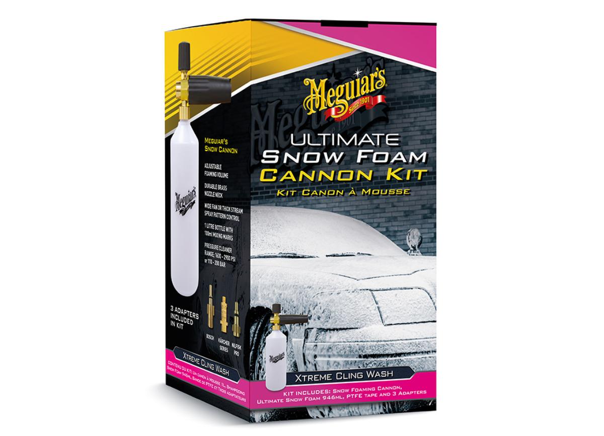 Meguiar's Ultimate Snow Foam Cannon Kit - sada napěňovače a autošamponu Meguiar's Ultimate Snow Foam, 946 ml