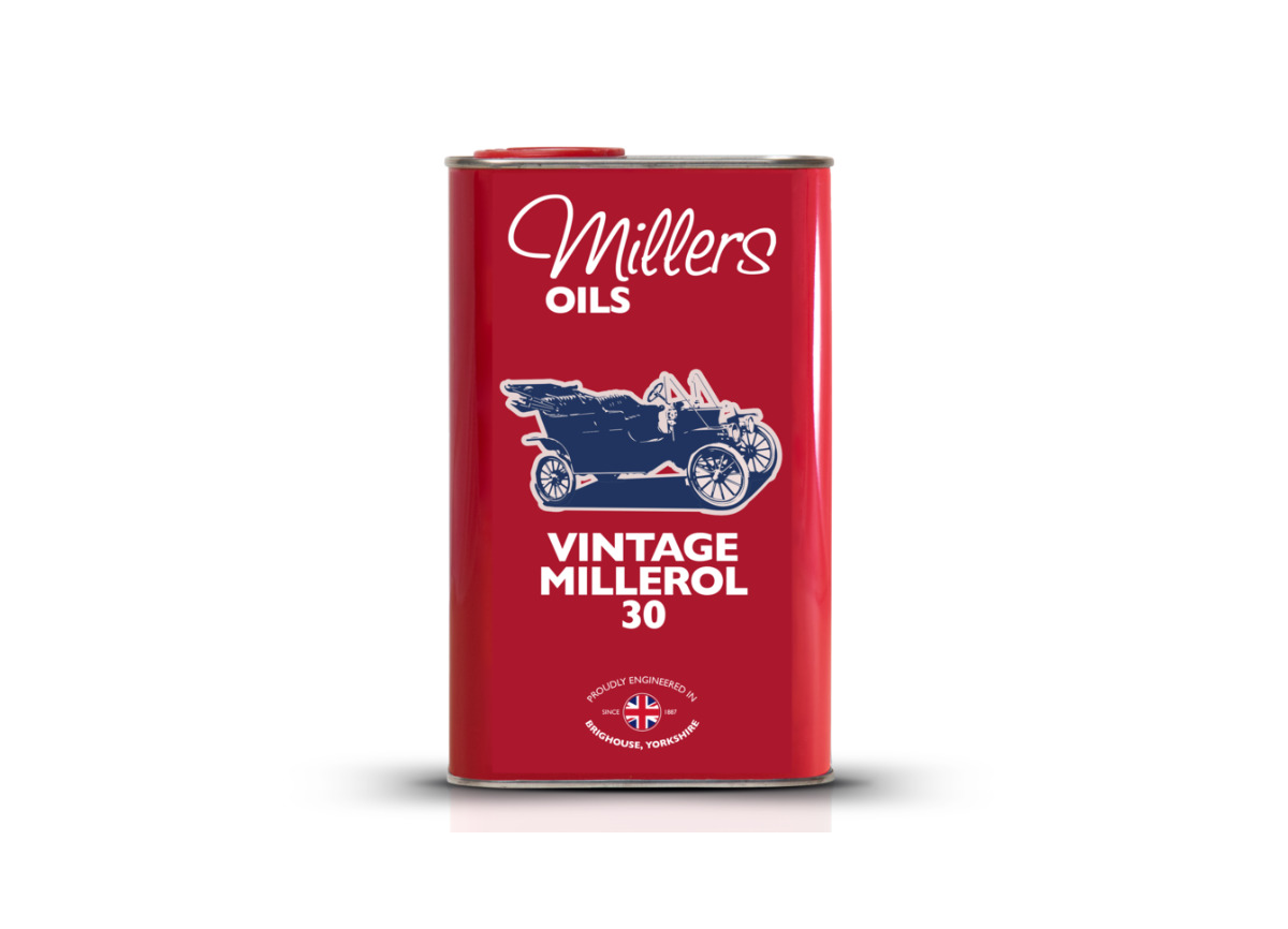 Jednorozsahový olej Millers Oils - Vintage Millerol 30 1l - pro motory a převodovky