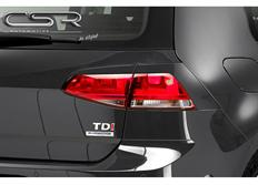 CSR mračítka zadních světlometů pro VW Golf VII R