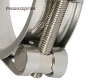 Powersprint nerezová spona, průměr 48 mm - 51 mm, šířka pásma 25 mm