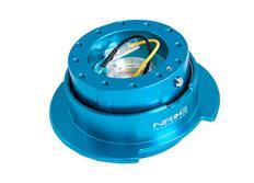 NRG odpojovač volantu Generation 2.5 - modrý lesklý