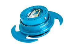NRG odpojovač volantu Generation 3.0 - modrý lesklý