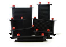 Olejový chladič MOCAL, výška 100mm, objem 0,16 litru, závit 1/2 palce