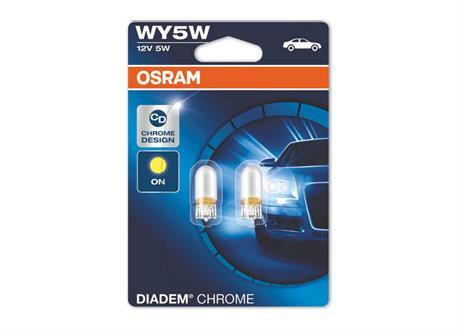 Osram Diadem Chrome (oranžové světlo) WY5W, 2ks (pár)