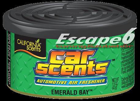 Osvěžovač vzduchu California Scents, vůně Car Scents - Smaragdová zátoka