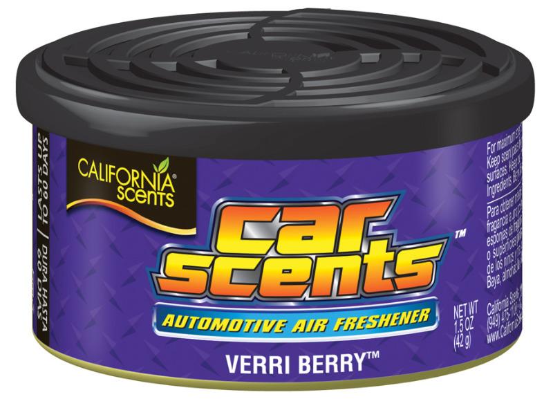 Osvěžovač vzduchu California Scents, vůně Car Scents - Borůvka