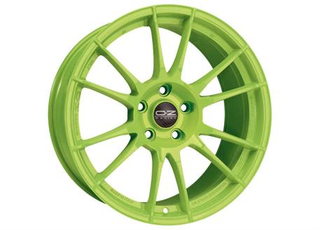 Alu kolo OZ ULTRALEGGERA HLT, 8,5x20 5x130 ET50, acid green
