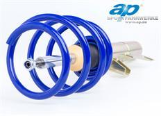 Sportovní podvozek ap Sportfahrwerke pro Audi A3 (8L), s poh. př. kol, r.v. od 09/96 do 05/03, 1.6/1.8/1.8T bez Tiptronicu, snížení 50/30 mm