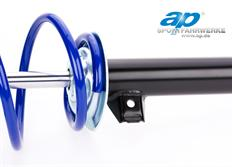 Sportovní podvozek ap Sportfahrwerke pro Seat Leon (5F), r.v. od 10/12, 2.0TDi s víceprv. zad. nápr., snížení 40/40 mm