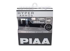 Autožárovky PIAA Hyper Arros 3900K H8 - o 120 % vyšší svítivost, zvýšený jas