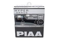 Autožárovky PIAA Hyper Arros 3900K HB3 - o 120 % vyšší svítivost, zvýšený jas