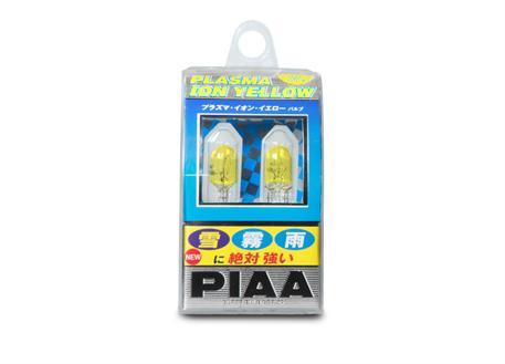 Exkluzivní autožárovky PIAA Plasma Ion Yellow do parkovacích světel T10 se žlutým světlem, cena za pár (2 kusy)