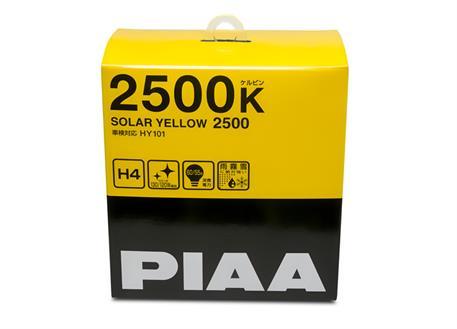 Autožárovky PIAA Solar Yellow 2500K H4 - žluté světlo do extrémních podmínek
