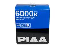 Autožárovky PIAA Stratos Blue 6000K H4 - studené bílé světlo s xenonovým efektem