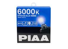 Autožárovky PIAA Stratos Blue 6000K H11 - studené bílé světlo s xenonovým efektem
