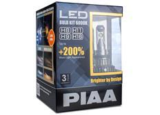 PIAA LED náhrady autožárovek H8/H9/H11/H16 6000K - dokonale bílé světlo, až o 200% vyšší svítivost