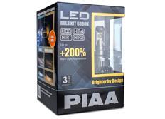 PIAA LED náhrady autožárovek HB3/HB4/HIR1/HIR2 6000K - dokonale bílé světlo, až o 200% vyšší svítivost